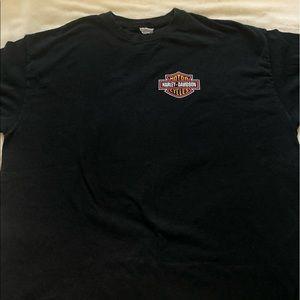 black harley davidson t-shirt